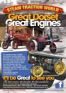 Advert Design – Great Dorset Steam Fair