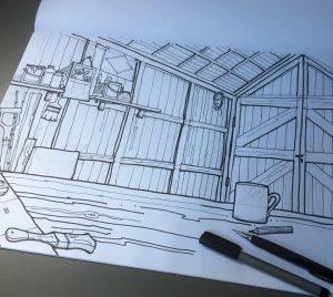 Illustration – Background Set Workshop