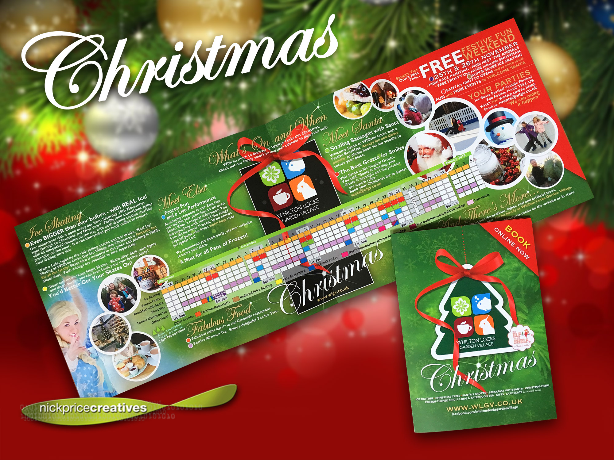 leaflets christmas