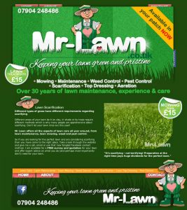 Rugby Web Design – Mr Lawn