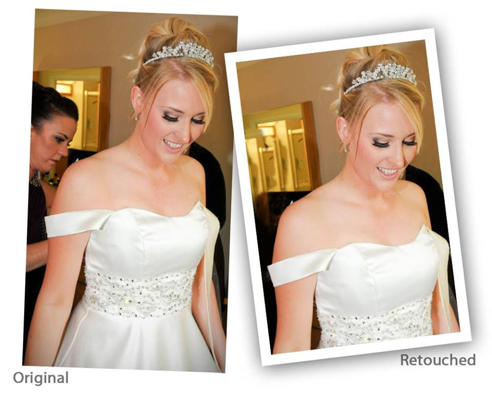 photo retouch wedding