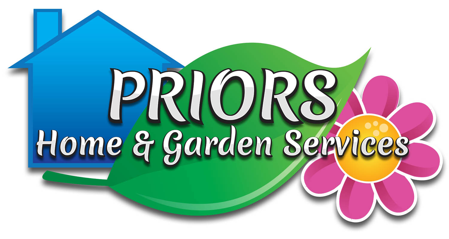Priors home and garden logo nick price creatives web design Homes and gardens logo