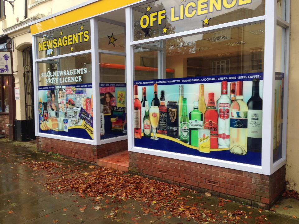 shop front graphics daventry
