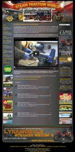 Steam Traction World Website