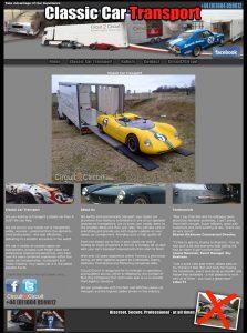 Classic Car Transport Website