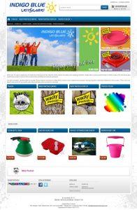 Website Design Rugby – Indigo Blue