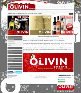 Web Design Rugby – Olivin (Christmas)