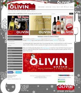 Web Design Rugby – Olivin (Christmas)