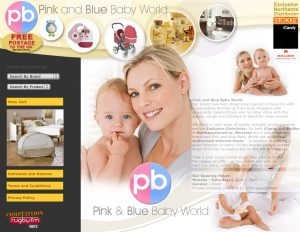 Website Design Daventry – Pink and Blue