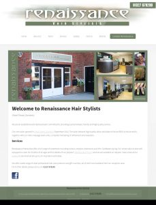 Website Design Daventry – Hairdressing