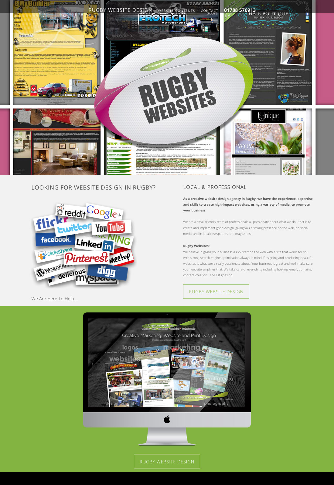 Web Design Rugby