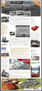 Web Design Rugby – Triumph Herald