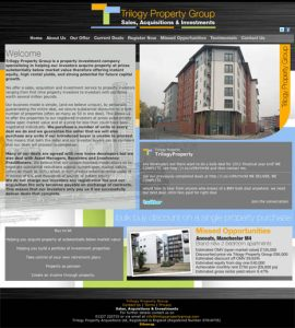 Website Design – Trilogy Property Group