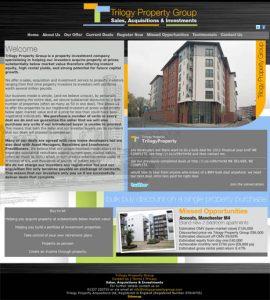Website Design – Trilogy Property Group