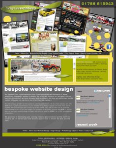Web Design Rugby – Nick Price Creatives