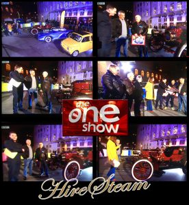 BBC – The One Show, Top Gear Launch