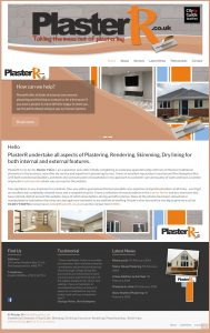 Website Design – Plaster R