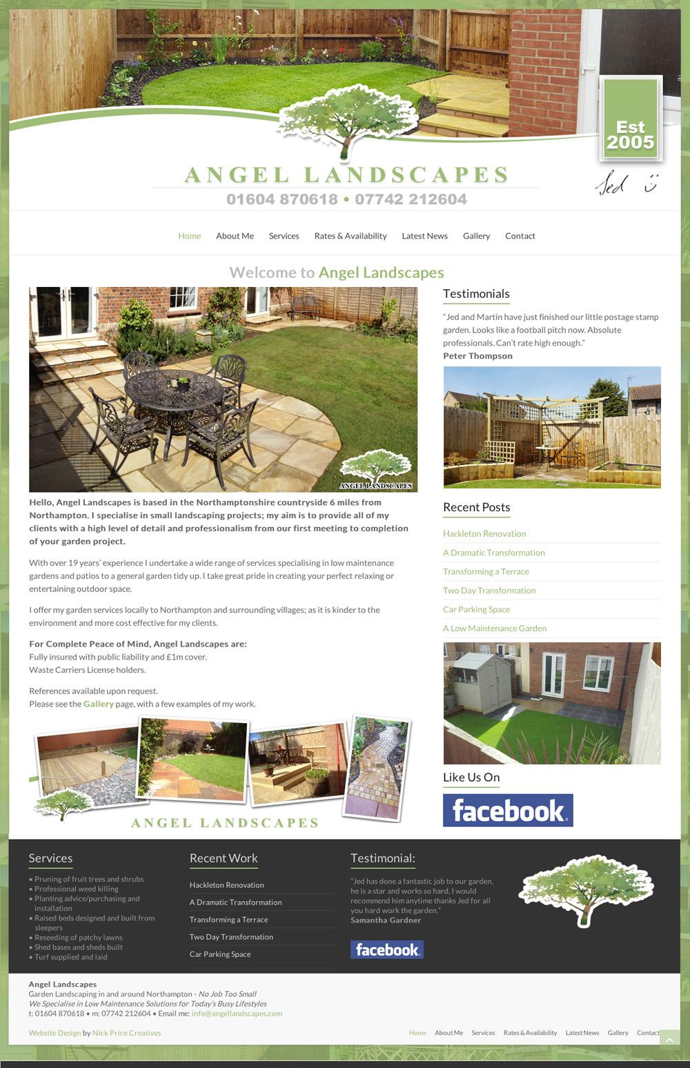 web design northampton