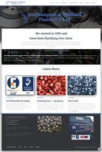 Northampton Website Design – NMP