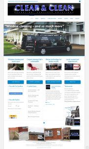 Website Design – Clear and Clean