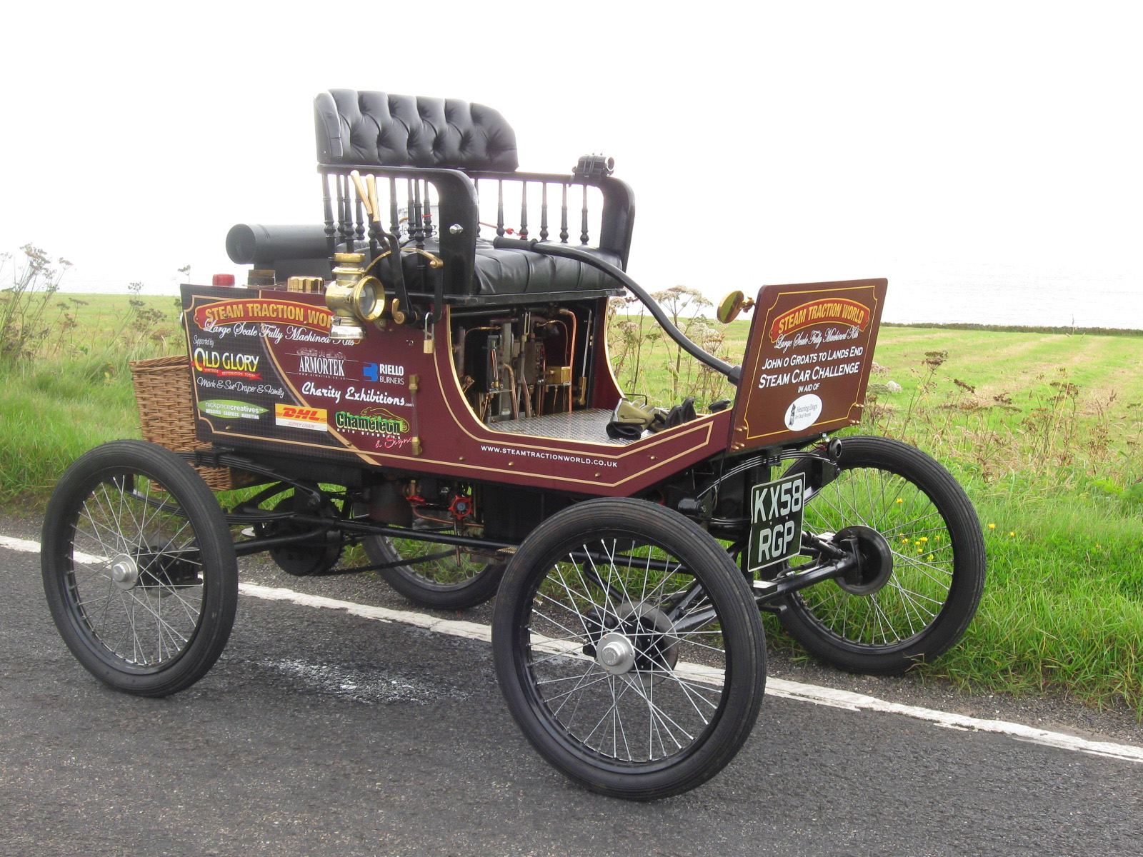 lykamobile steam car
