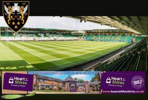 Northampton Saints Advertising Banner
