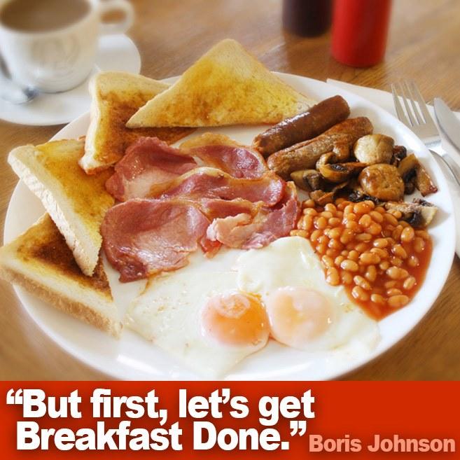 let's get breakfast done