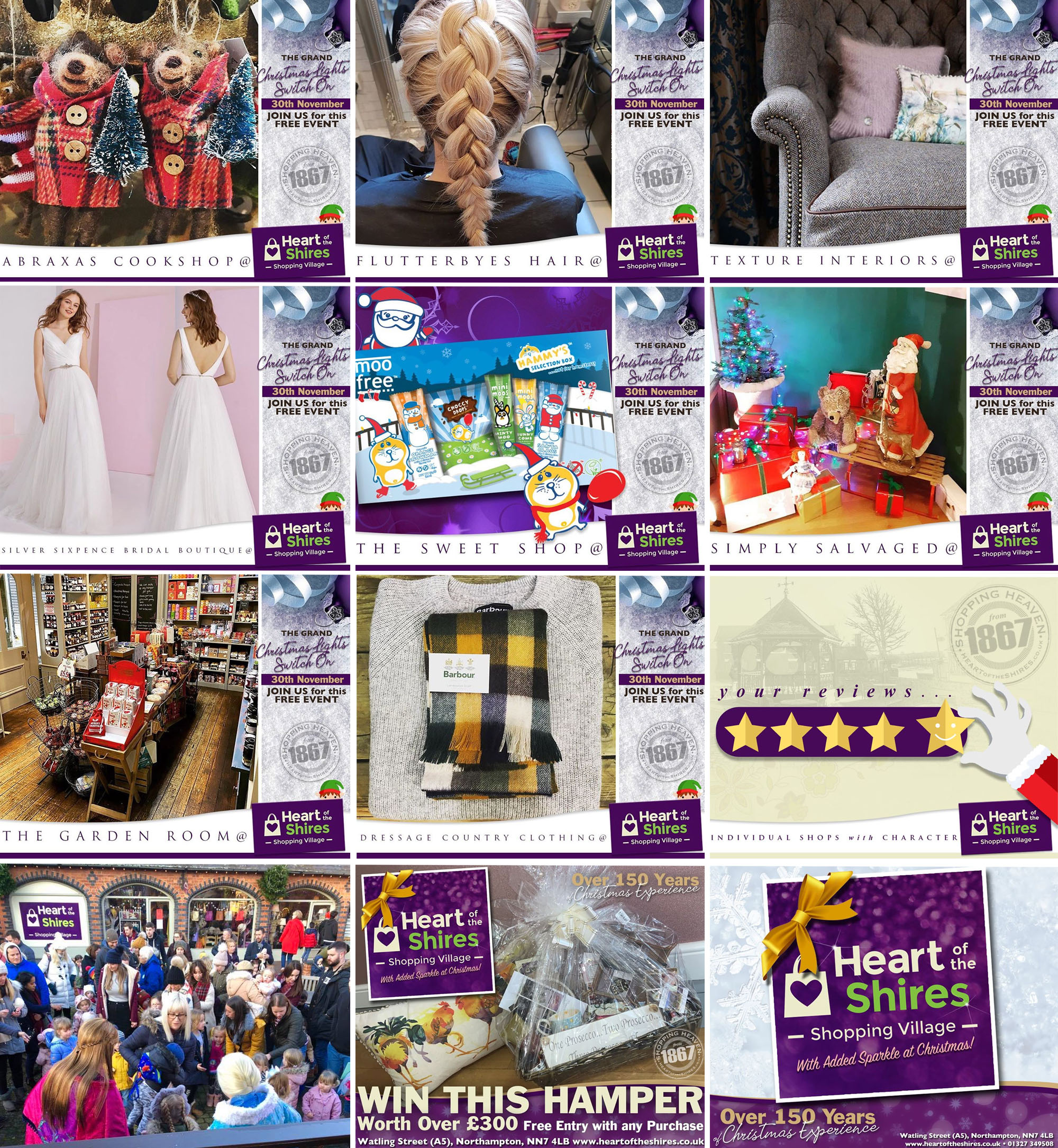 Retail promotion Northamptonshire