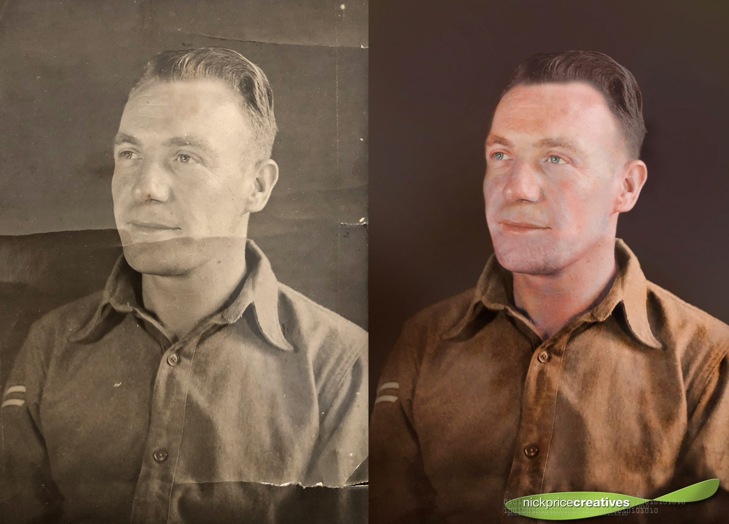 Black and White Photo Restoration