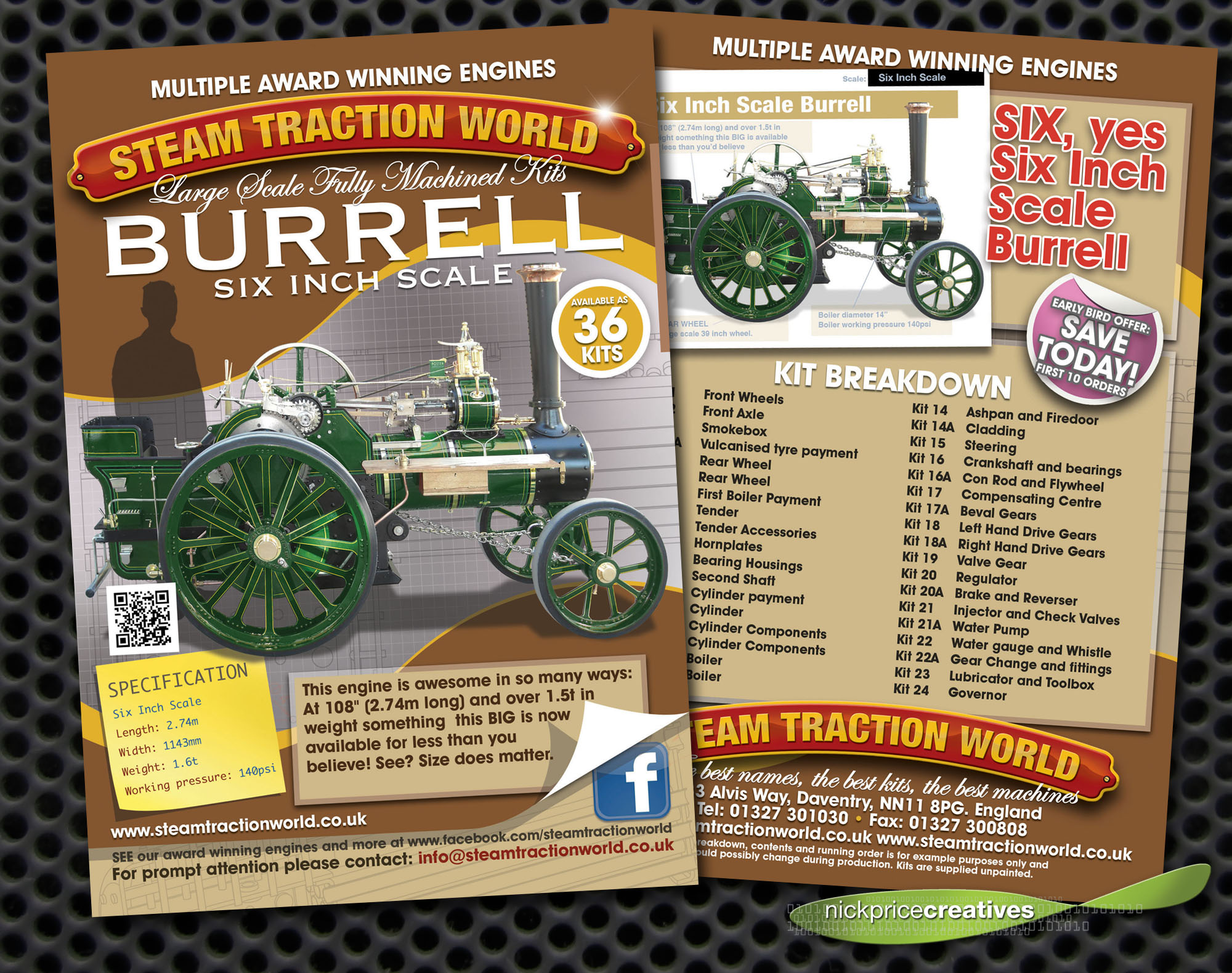 Leaflet Design Daventry