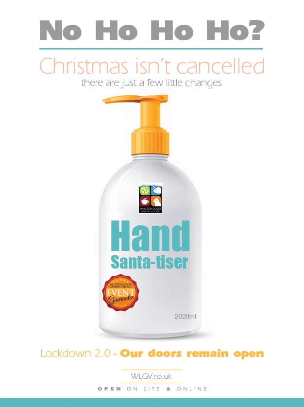 Hand-santa-tiser