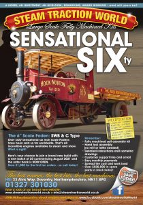 Press Advert for Steam Traction World