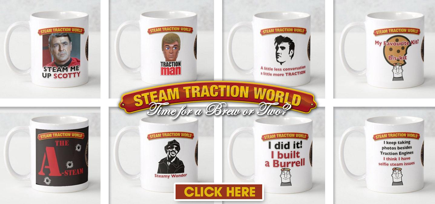 Steam Traction World Mugs