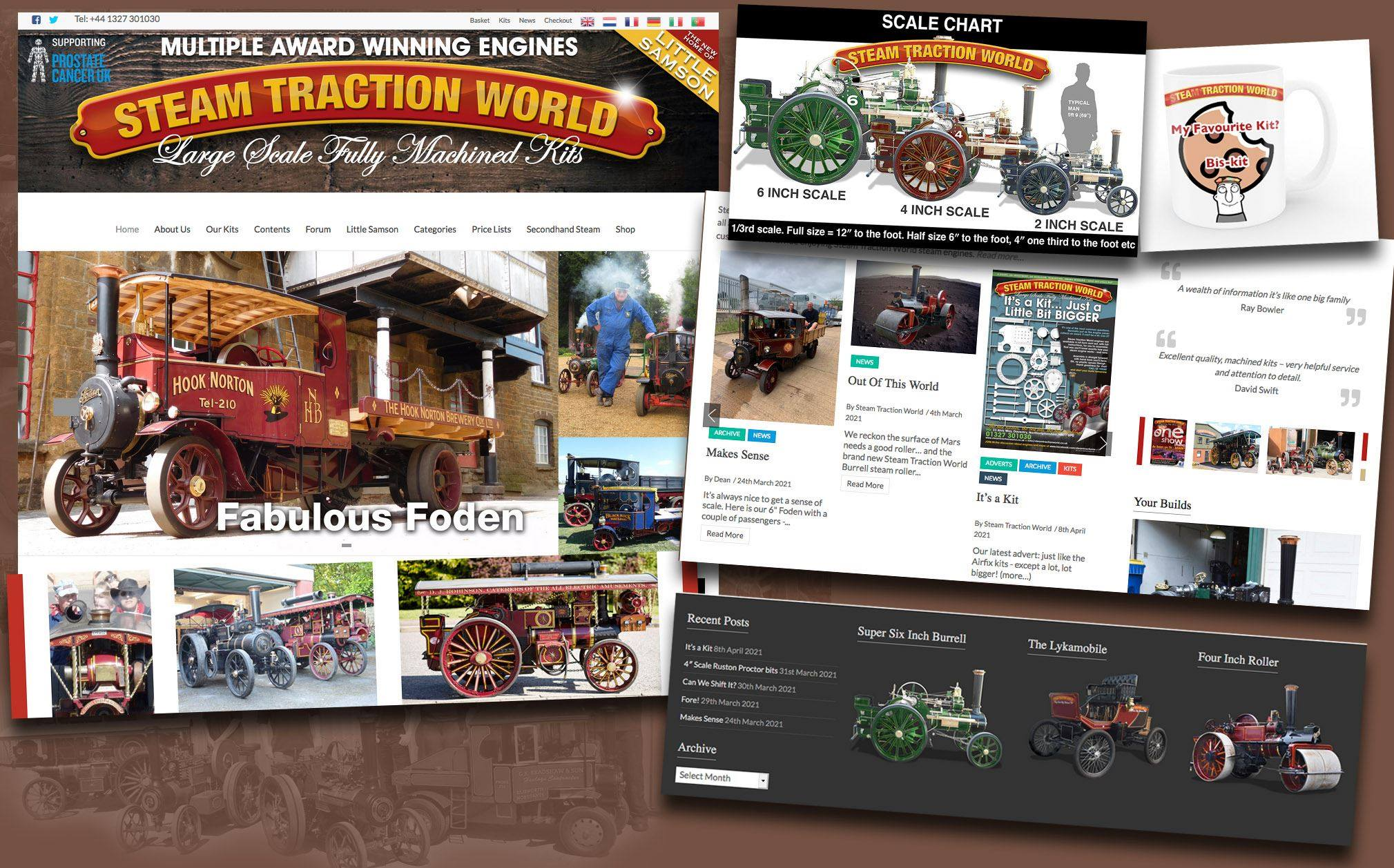 new website design daventry